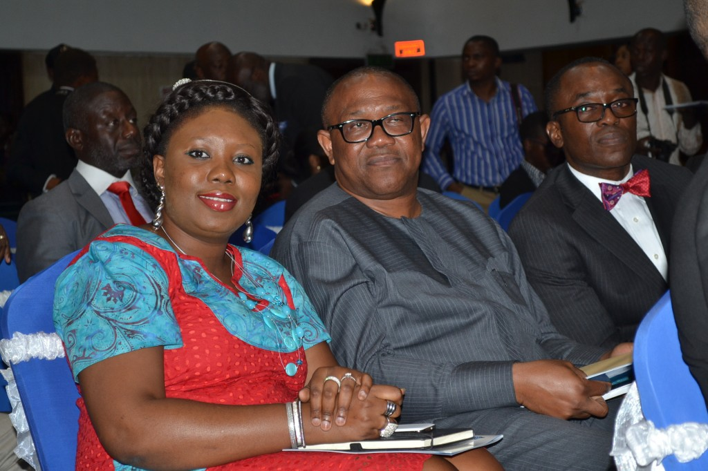 with former Governor of Anambra State Mr Peter Obi