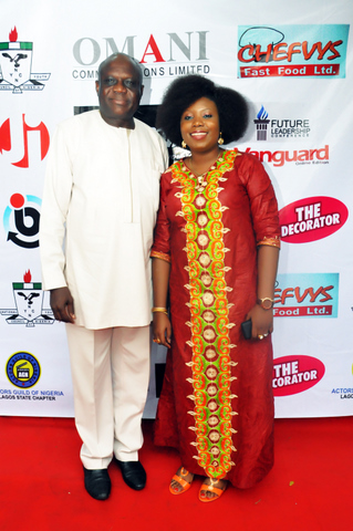 With Dr Austin Izagbo, Former Commissioner for Sports and Youth Development, Delta State