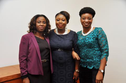 Left: Mrs Adeola Awogbeni, Right: Mrs Modupe Adefaso-Olateju.