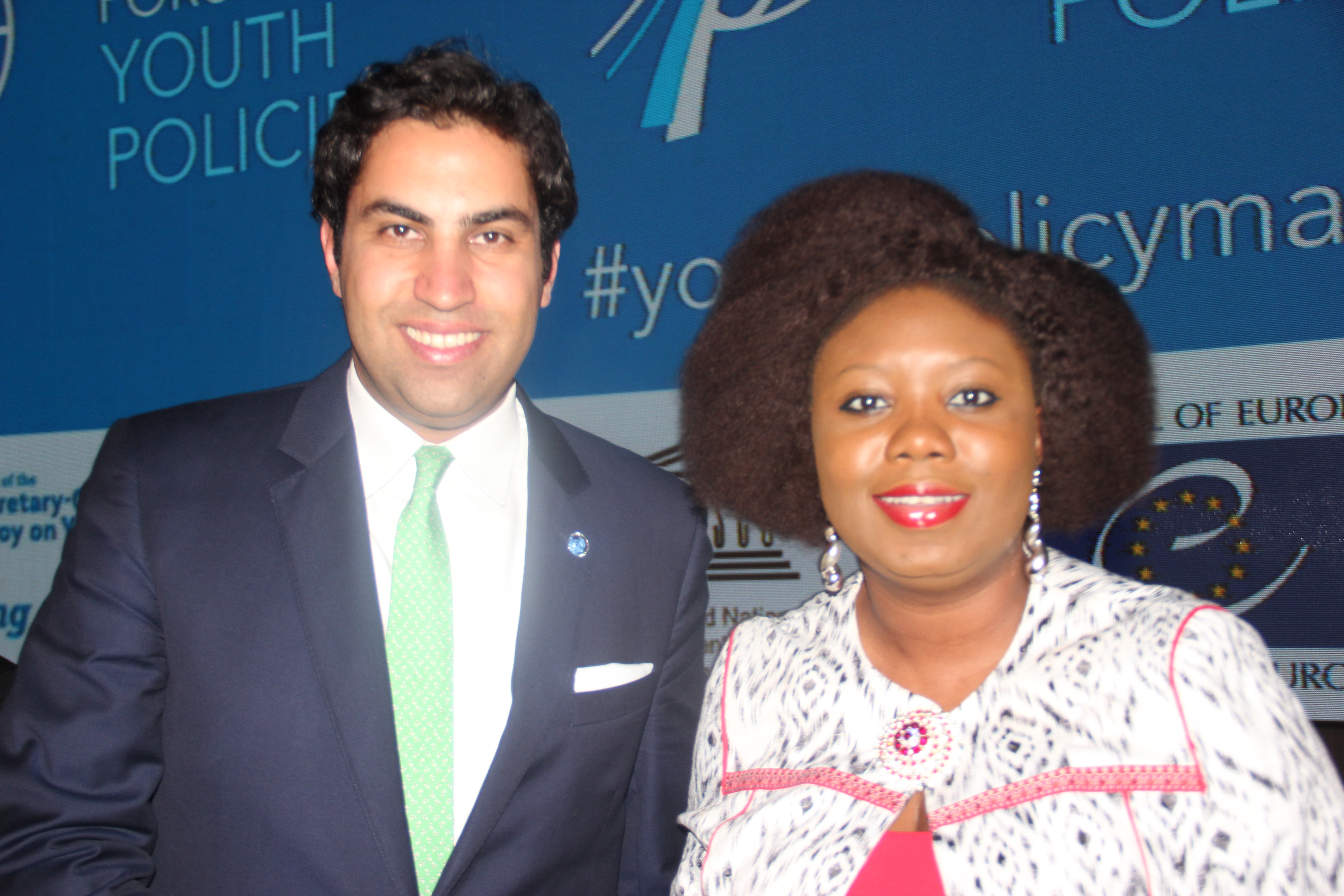 Ahmad Alhendawi my appearance at the first united nations global forum on