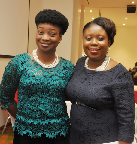 With Mrs. Modupe Adefaso