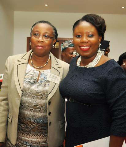 With Mrs. Folasade Adefisayo