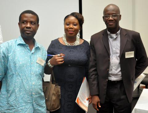 Left: Tona Olajuwon, Right: Rotimi Onyekan