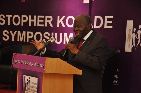 CHRISTOPHER KOLADE CON- CHAIRMAN, NIGERIA INITIATIVE BOARD (7)