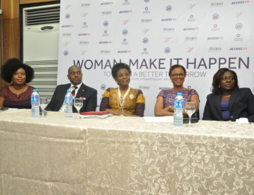 MY APPEARANCE AT THE ACCESS BANK/US CONSULATE CELEBRATION OF THE INTERNATIONAL WOMEN'S MONTH PROGRAM LAUNCH