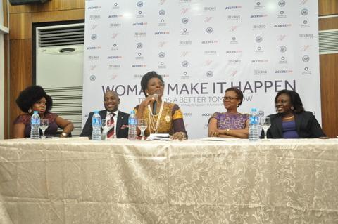 Mrs Jumoke Adenowo during her speech