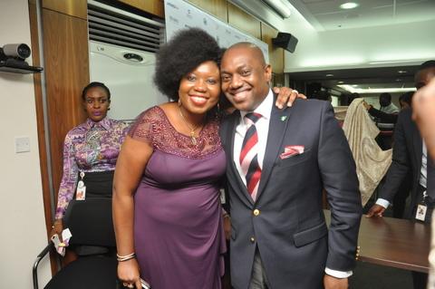 With Fela Durotoye Founder GEMSTONE