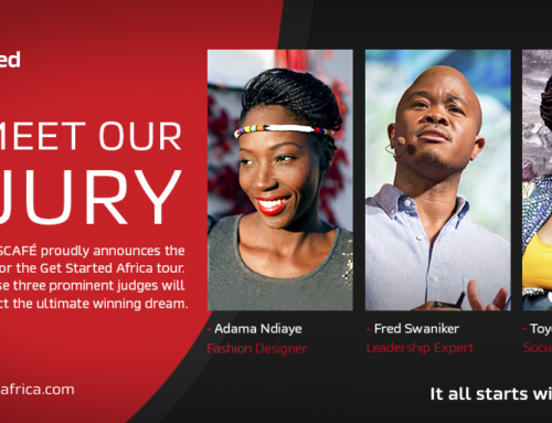 HONOURED TO BE ON THE JURY OF THE NESCAFE GET STARTED AFRICA CHALLENGE