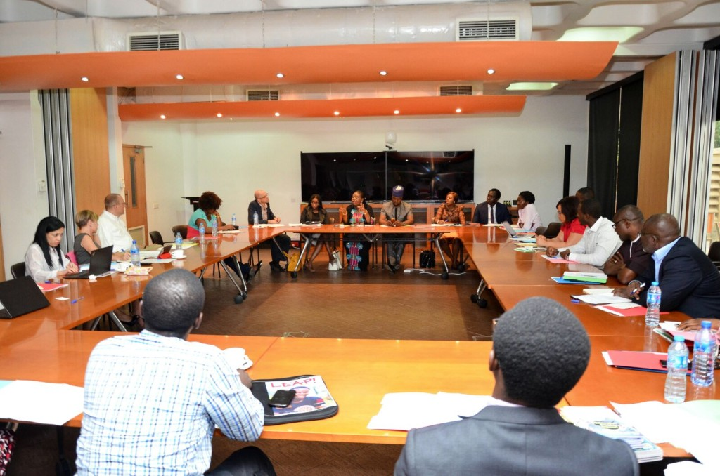 Cross section of participants at the Round table discussion