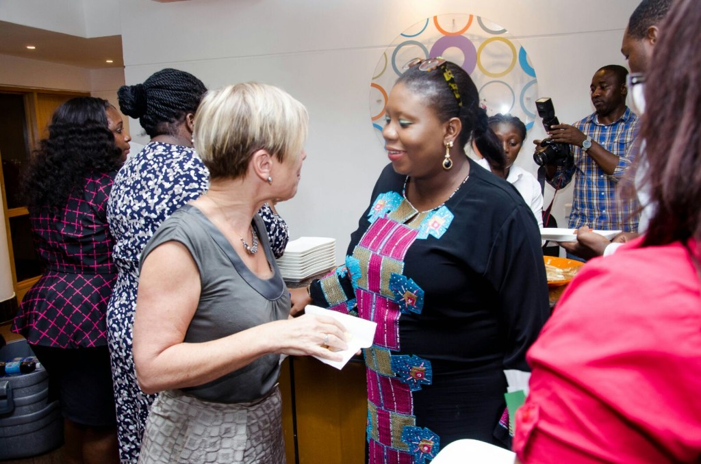 With Hilary Pennington, Vice President Ford Foundation's Africa Office