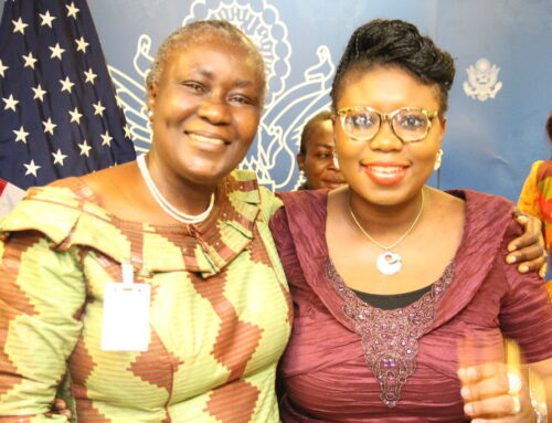 MY EXPERIENCE AT THE 2016 INTERNATIONAL WOMEN'S DAY CELEBRATION AT THE US CONSULATE