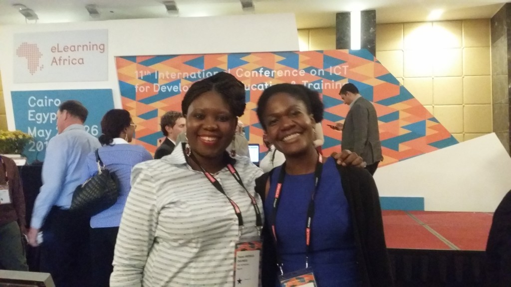 With Misan Riwane, Founder and CEO of West Africa Vocational Education (WAVE)