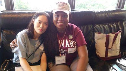 Toyosi and Sowon Kim