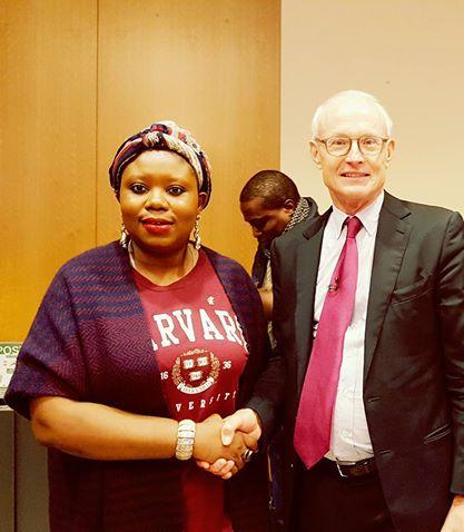With Professor Michael Porter