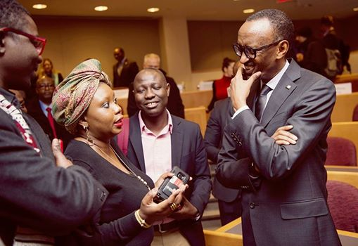 President of Rwanda responding to my questions