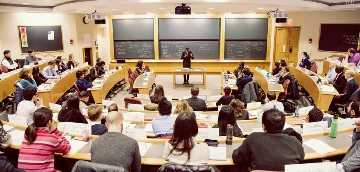President of Rwanda teaching Harvard 2016/2017 Class