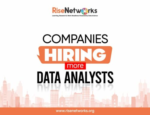 Rise RiseNetworks· Demand for Data Analysts has shot through the roof over the last 5 years.